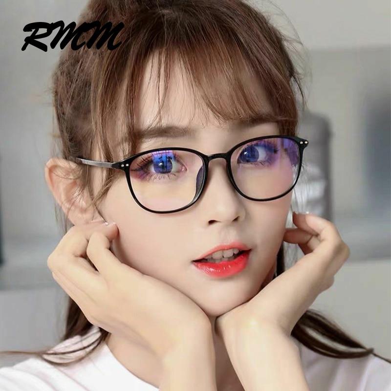 RMM Retro Square Round Frame Plain Glasses Anti Blue Light Glasses Women&Men Optical Spectacle Glasses Myopia Eyeglasses Frames