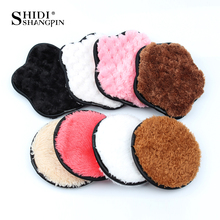 Makeup-Removal-Sponge Natural-Cleaner-Tools Face-Puff Wash-Cleaning Reusable Cotton 3PCS
