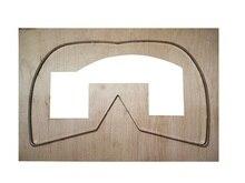Пресс форма для кожаных масок ручной работы «сделай сам» маска Форма против распыления защитная маска для лица инструмент для высечки кожи резак