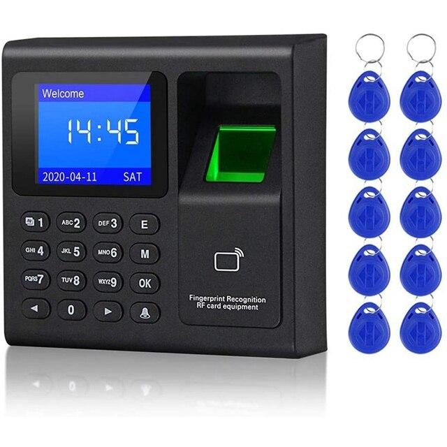 Biometric RFID Access Control System RFID Keypad USB Fingerprint System Electronic Time Clock Attendance Machine 1