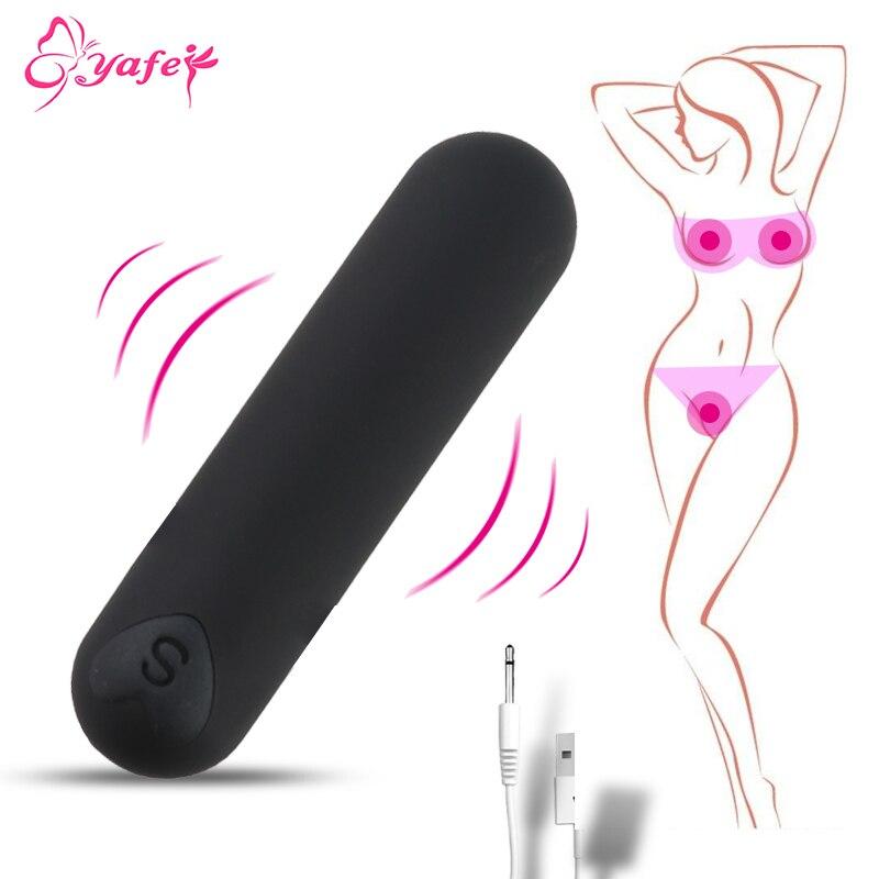 Powerful Mini Bullet Vibrator Clitoris Stimulator Vagina Massage G Spot Dildo Vibrator Adult Sex Toys For Women Masturbation