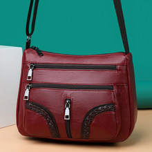 Summer Style Pu Leather Shoulder Crossbody Bags for Women 2021 Ladies Hand Cross Body Bag Woman Purses and Handbags Sac A Main