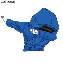 ZOTOONE Iron on Cool Hip Hop Patch for Clothing T-shirt Heat Transfers Applications Diy Patches Kids Appliques Stickers G