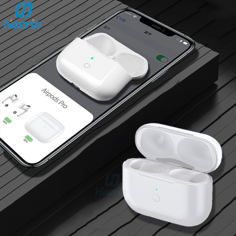 Qi Wireless Charging Case Replacement For Airpods Pro Bluetooth