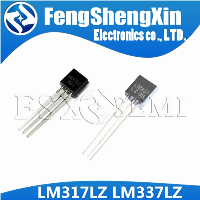 20pcs LM317L WSLM317LZ LM317LZ TO-92 LM337LZ LM337 TO92 Voltage Regulator