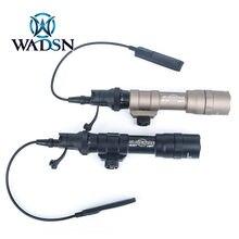 WADSN 1400 Lumens lampe de poche tactique Surefir M600DF Scout lumière chasse Softair 20mm montage sur Rail arme lumière pistolet pistolet lumière