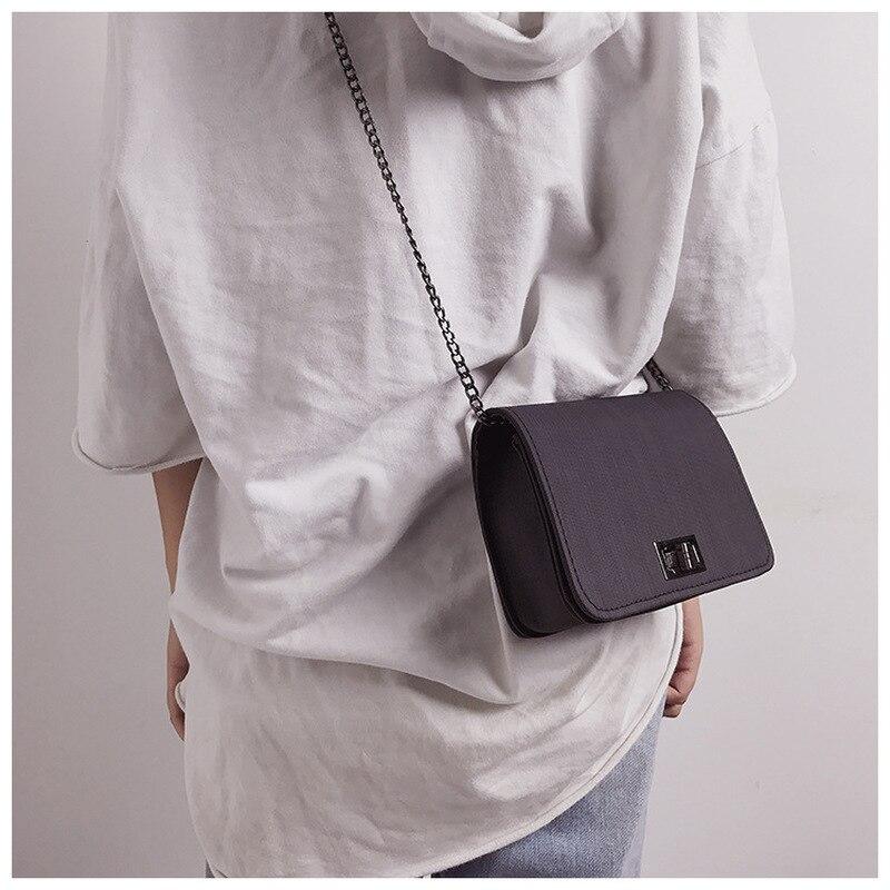 Women Shoulder Bag 2019 Luxury Handbags Women Bags Designer Version Luxury Wild Girls Small Square Messenger Bag Bolsa Feminina in Top Handle Bags from Luggage Bags