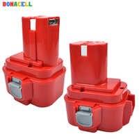 Bonacell 3500mAh 9,6 V Ni-MH para Makita PA09 9120 9122 6207D 192595-8,192596-6 recargable de la herramienta eléctrica de la batería