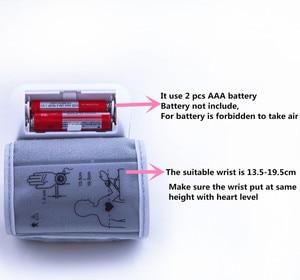 Image 5 - Russian Voice Tonometer Wrist Blood Pressure Monitor Automatic Wrist Digital Meter for Measuring And Pulse Rate Sphygmomanometer