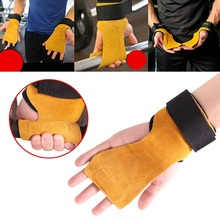 1Pc New Gym Fitness Hand Grip Wrist Wraps Support Deadlifts