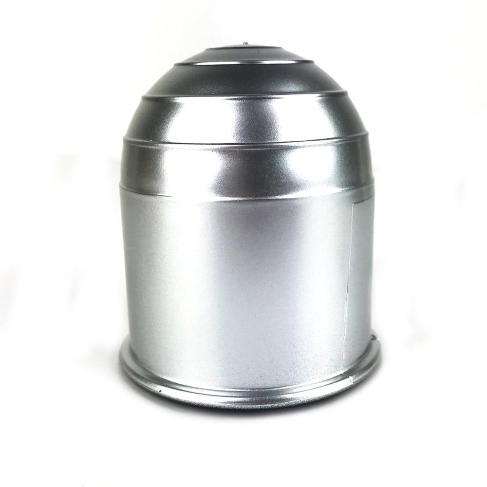 50mm New Vehicle Car Hitch Cover Chrome Plastic Tow Bar Ball Case