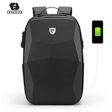 Fenruien Multifunction Men's Backpack 17.3 Inch Laptop Backpacks Anti-Theft Waterproof Business Backpacks Travel Bags 2021 New