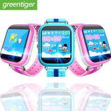 GPS Smart Watch Q750 Q100 Baby Smart Watch With 1.54inch Touch Screen SOS Call Location Device Tracker for Kid Safe PK Q50 Q90(China)