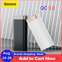Baseus 20000mah急速充電パワー銀行タイプc pd QC3.0 高速充電iphoneサムスンxiaomi 9 タイプc usb充電器の電源銀行