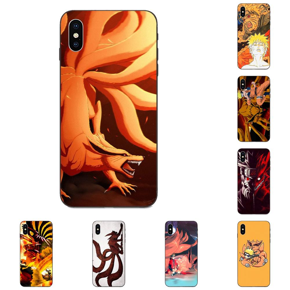 Nine Tailed Demon Fox Naruto Soft Cover For Huawei nova 2 2S 3i 4 4e 5i Y3 Y5 II Y6 Y7 Y9 Lite Plus Prime Pro 2017 2018 2019 image
