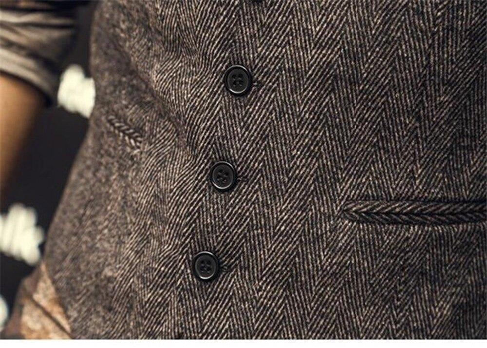 Men-s-Wool-Tweed-Slim-Fit-Leisure-Cotton-Suit-Vest-Gentleman-Herringbone-Pattern-Waistcoat-Beckham-business (3)