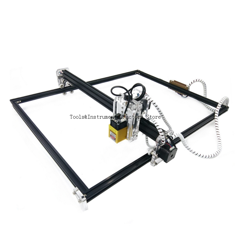 15W Laser Cutting Machine 65*50cm Big Area Wood Router DIY Laser Engraving Machine Laser Carving Machine CNC Router
