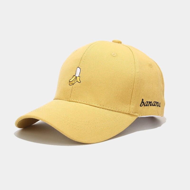 LDSLYJR 2020 Cotton Fruit Banana Embroidery  Baseball Cap Adjustable Snapback Cap For Men And Women 03