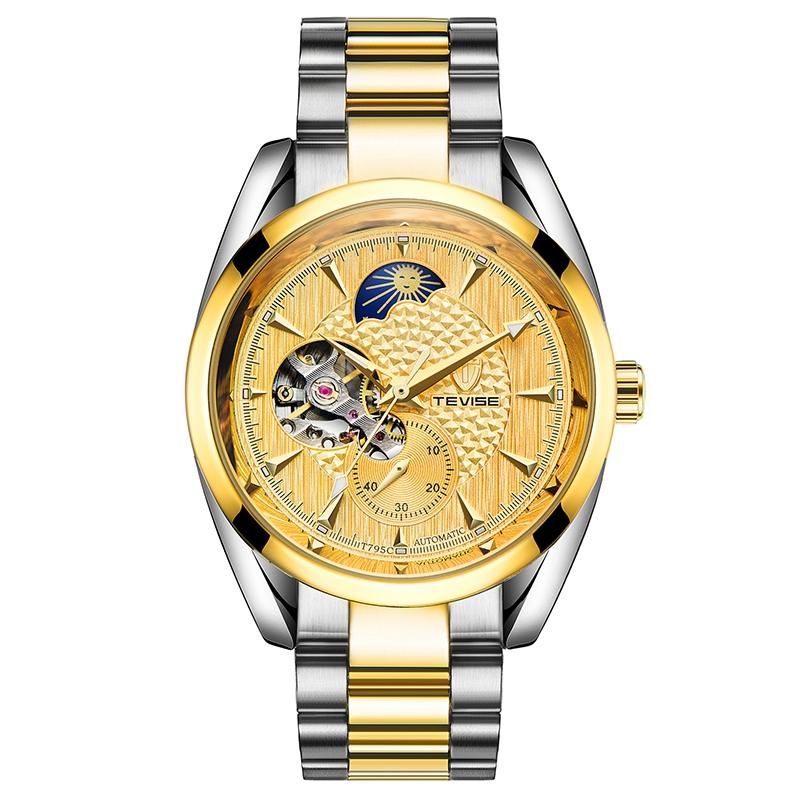 Men Sport Mechanical Automatic Wrist Watch Wristwatch Clock Mens Watches Top Brand Luxury Creative Cost g Shock Watches