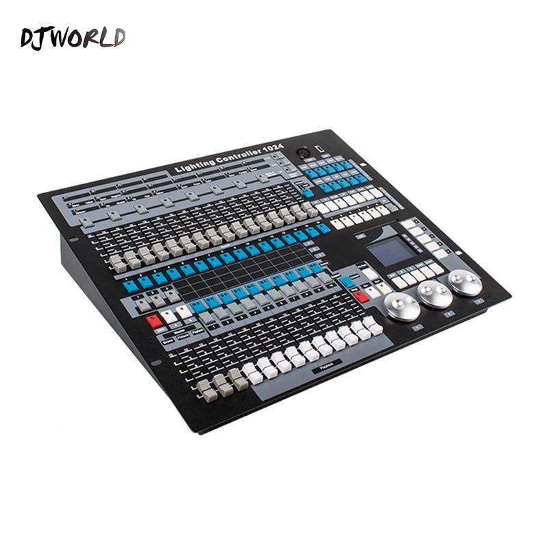 Djworld Console Dmx 1024 Controller per Illuminazione Della Fase di Dmx 512 Dj Apparecchiature di Controllo Standard Internazionale