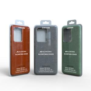 Image 2 - 100% Original GENUINE Samsung S20 Ultra Case For Galaxy S20Plus S20 + Alcantara Cover Leather Premium Full Protect Cover 5 color