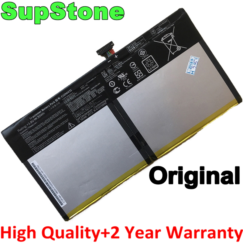 SupStone Genuine Original C12N1435 Laptop Battery For Asus Transformer Book T100HA T100HA-FU006T 10.1-Inch 2 In 1 Tablet Battery