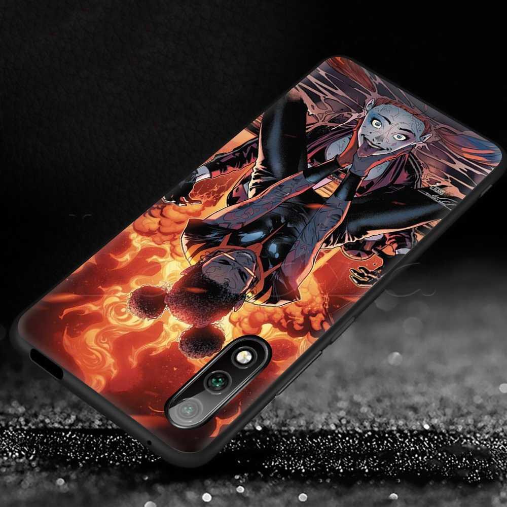 Lavaza Harley Quinn Suicide Squad Joker Wink Custodia Morbida per Huawei P9 P10 P20 P30 P Smart Z Y7 Più lite Pro Prime Mini 2019