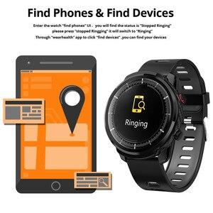 Image 3 - الرجال ساعة ذكية L5 S10 زائد L3 IP67 مقاوم للماء شاشة تعمل باللمس كامل طويل الاستعداد Smartwatch معدل ضربات القلب الطقس PK الشرف