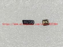 اسم العلامة الجديدة D750 شعار FX المطاط لنيكون D750 جزء الكاميرا