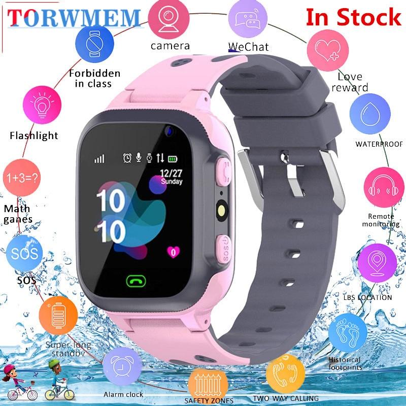 Q15 Kids Smart Watch kids call for children SOS Antil-lost Waterproof Smartwatch Baby 2G SIM Card Clock Location Tracker watches(China)