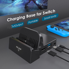 Charging-Dock-Adapter Nintendo Switch Support Game-Tools Tv-Docking-Station with Usb-3.0