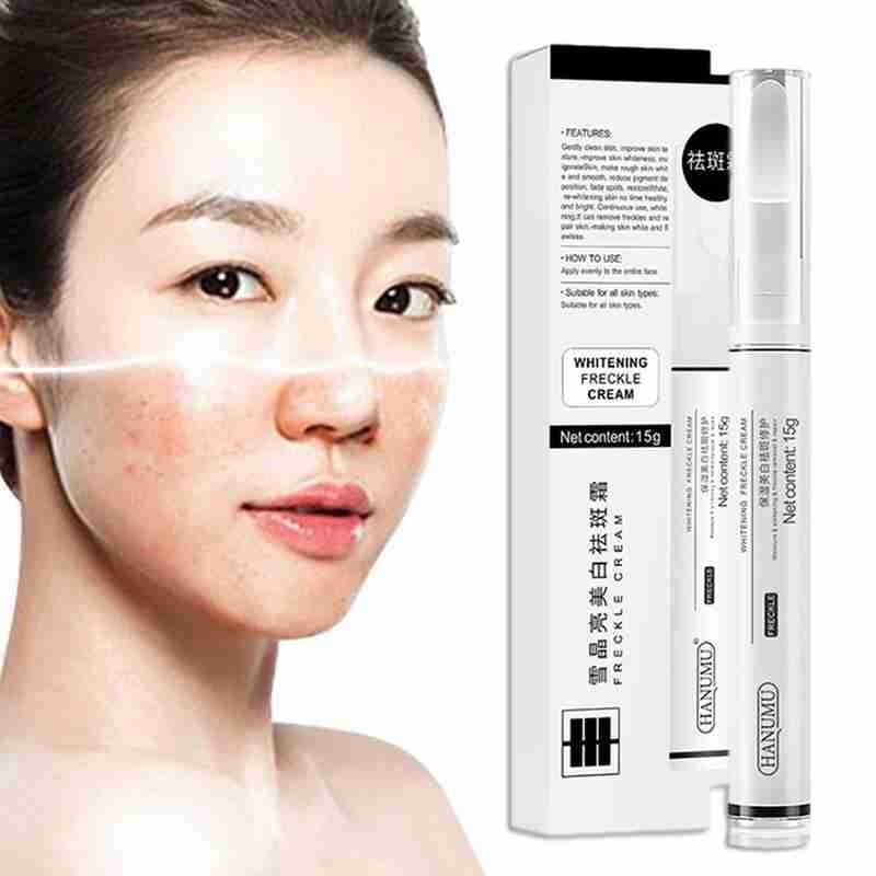 15ml Vitamin C Frekle Cream Whiten Skin Repair Fade Acne Marks Remove Dark Sports Corrector Pen Moisturizing Lotion Serum