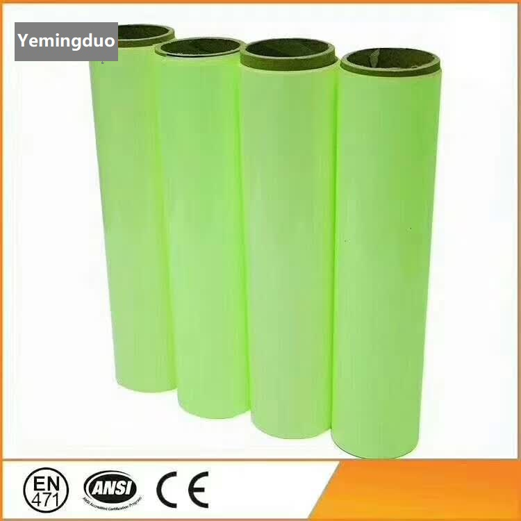 Storage Luminescent Film PVC/PET Night Glowing Self-adhesive Film Wall Stickers Spontaneous Lithography Advertising Sign