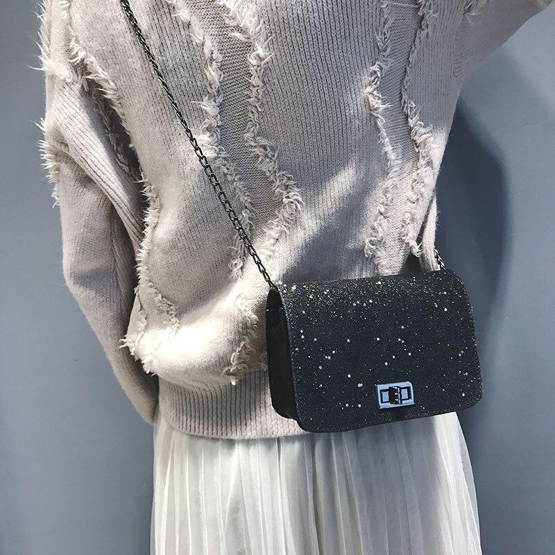 Women Shoulder Bag 2019 Luxury Handbags Women Bags Designer Version Luxury Wild Girls Small Square Messenger Bag Bolsa Feminina
