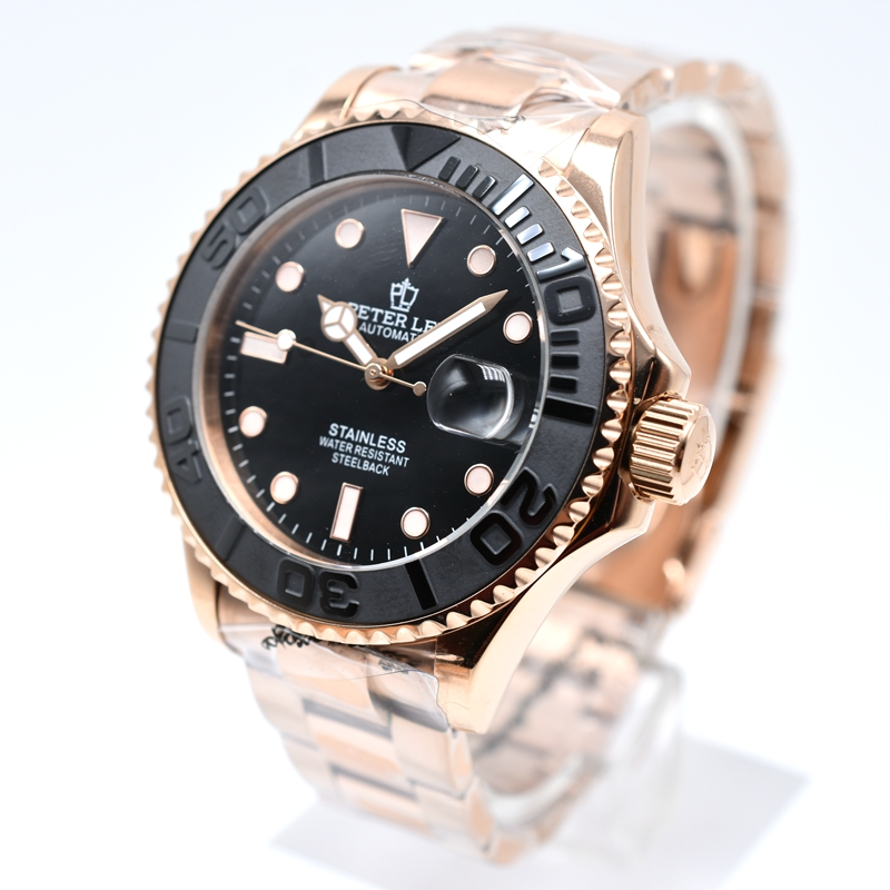 Hb1758478b3fc411bbc55c070c391e0a6i PETER LEE Nautilus | Watch Shop Near Me | brand luxury daydate 40mm mechanical automatic men watches classic ceramic bezel stainless steel gold watch