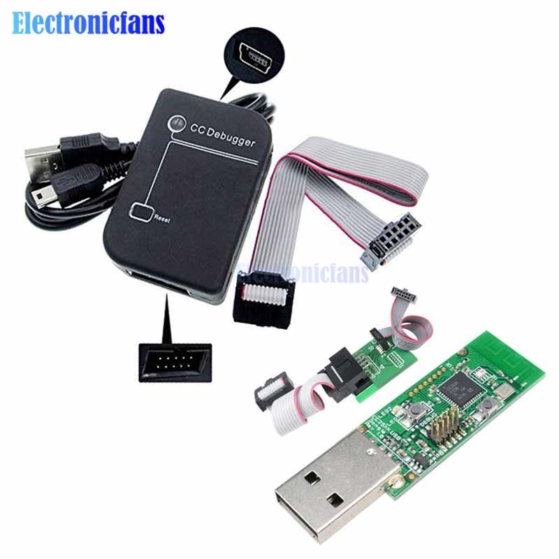 diymore Bluetooth Zigbee Emulator CC-Debugger Programmer Protocol Analysis Debugger CC2531 CC2540 Sniffer Wireless Board Module