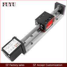 Mini Linear Guide Slide Rail CNC Small Stage Actuator Screw Lead Motion Table System Nema 14 Robot Part Motorzied Stepper Motor