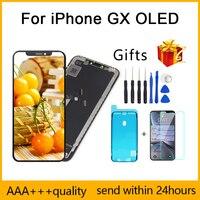 Perfecte Kwaliteit Aaa + + Voor Iphone X Gx Lcd Amoled Geen Dode Pixel Display Pantalla 3D Touch Screen Assembly Vervanging tft Lcd-in LCD's voor mobiele telefoons van Mobiele telefoons & telecommunicatie op