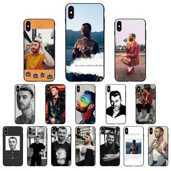 Babaite Sam Smith Phone Case for iphone 11 Pro Max X XS MAX 6 6s 7 8 Plus 5 5S 5SE XR SE2020 image