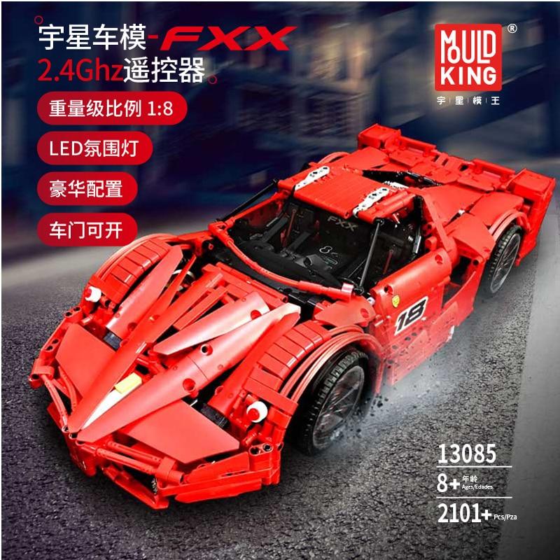 FERRARI F1 Car Racer MOC sets model building kits blo TECHNIC Building Blocks