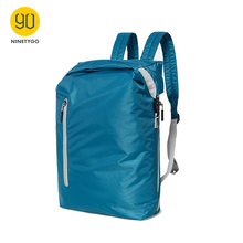 NINETYGO 90FUN Lightweight Backpack Foldable Bags Sports Travel Water Resistant Casual Daypack for Women Men 20L Blue/Black