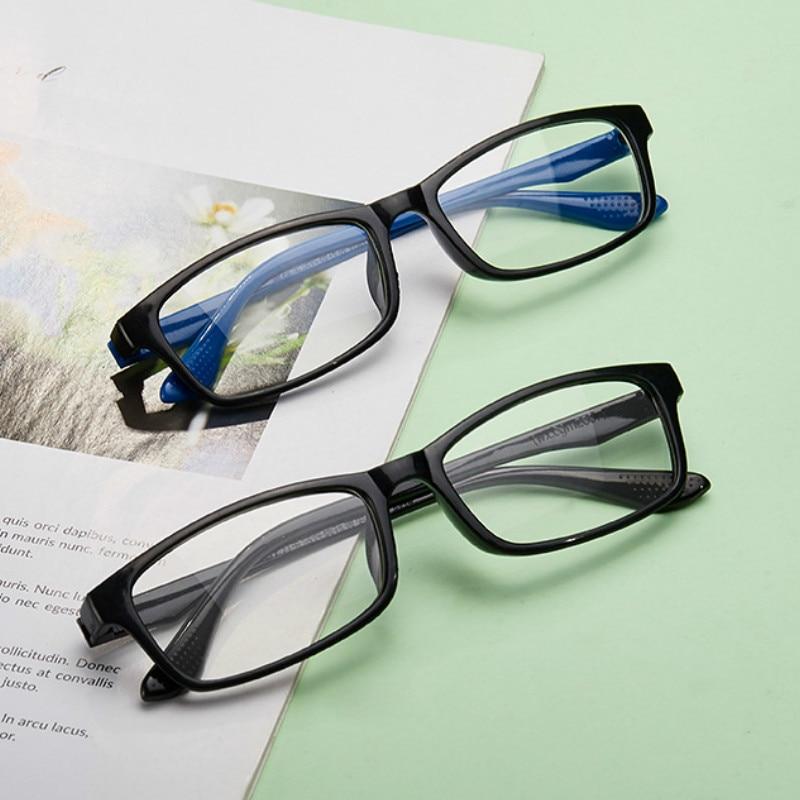 1PC Anti-UV Blue Light Glasses Anti Blue Rays Radiation Blocking Glasses Men Women Computer Goggles Flat Mirror Eyeglasses