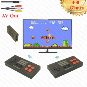 Retro Mini TV Game Console Video Games for NES Games with 2 Wireless Controllers 400 Different Games AV Out