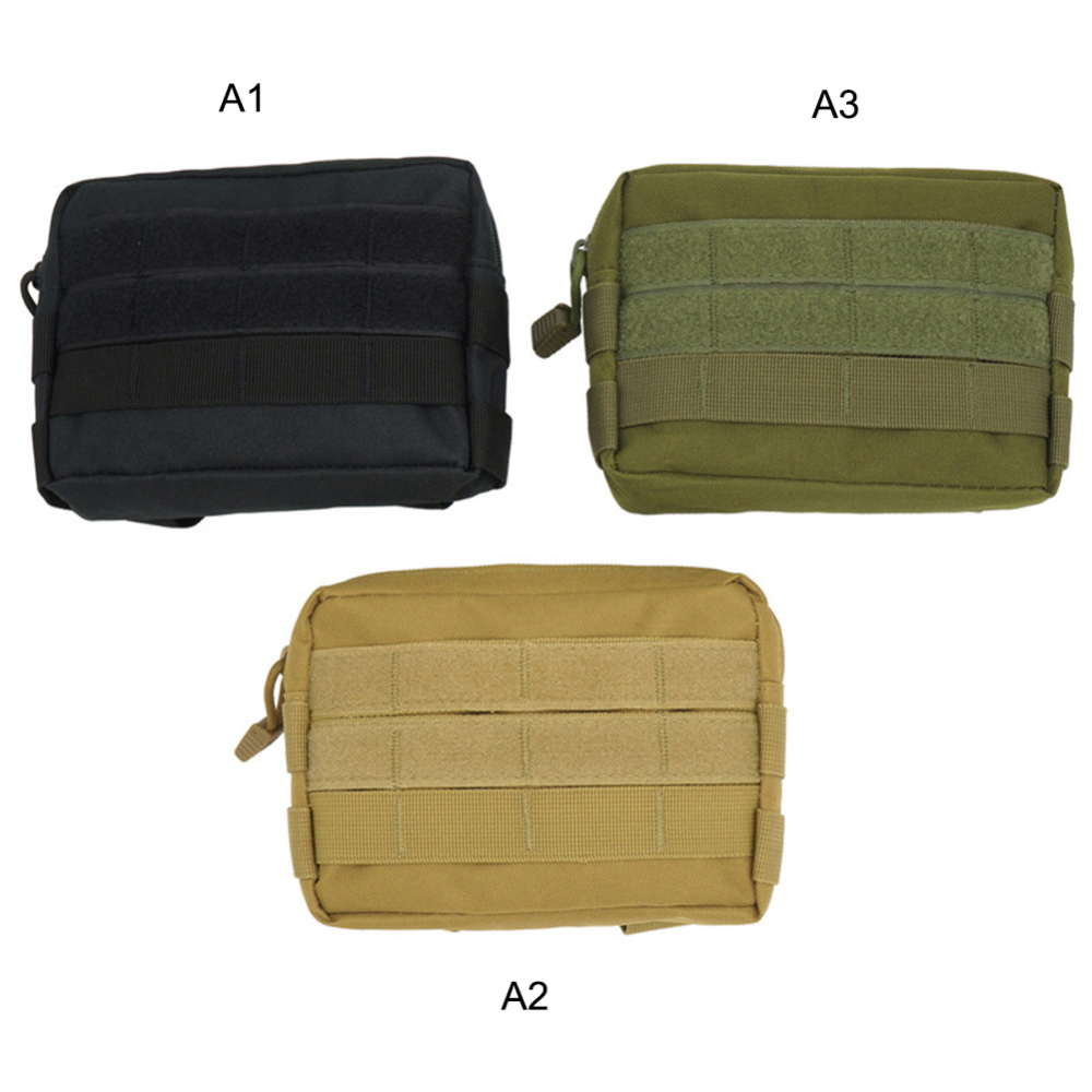 Bag Outdoor-Bag Zipper Travel Tactical-Pouch Cloth Pocket Waist-Pack Oxford Camping-Bags
