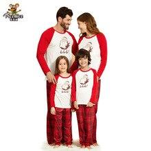 Family Matching Pyjama Christmas Sleepwear Outfits Kids Sets Men Women