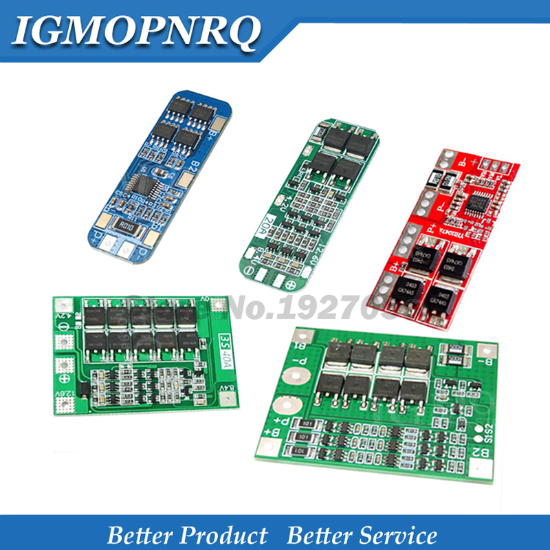 3S 10A 20A 25A 30A 40A Li-ion Lithium Battery 18650 Charger PCB BMS Protection Board For Drill Motor Lipo Cell Module image
