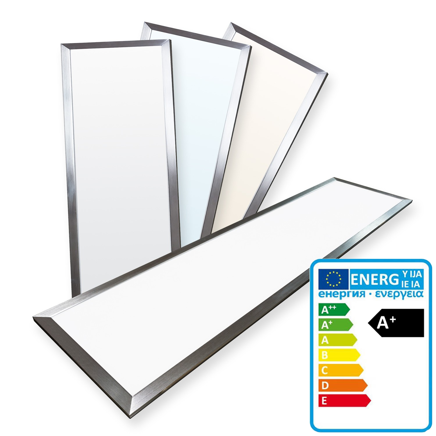 ThorX 1200x300mm Ultraslim LED Panel - 36W, 3000lm With Mounting Clips And Led Driver 100-240V, Cool / Warm / Neutral White