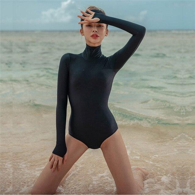 High Neck Swimsuit