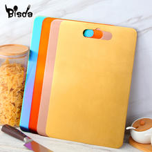 1Pc Stainless Steel Chopping Block Kneading flour Kitchen Tools Golden Cutting Boards Fruit Vegetable Meat Tools Chopping Board