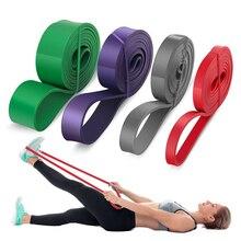 Фитнес подтянуть помочь полос резиновые тяжелых сопротивление группы йога эластичная петля эспандера для тренировки спорт
